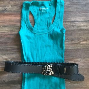 Guess tank and belt
